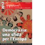 Democrazia: una sfida per l'Europa: copertina