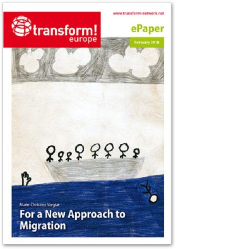 For a New Approach to Migration: copertina