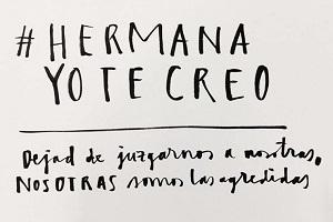 #Hermana yo te creo: manifesto della mobilitazione