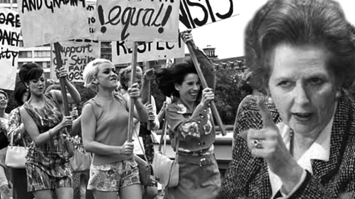 Io donna: manifestazione di donne