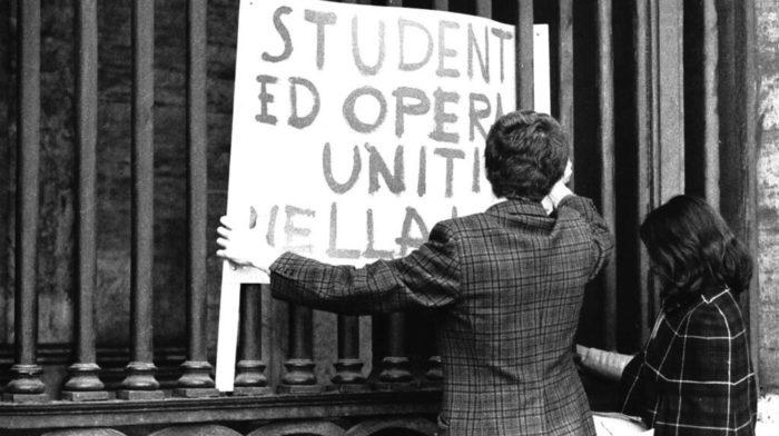 1968: cartello d'epoca