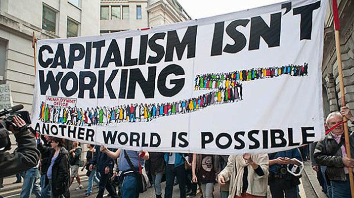 Abbattiamo l'ultimo muro, guadagniamoci il rinascimento: manifestazione anticapitalista