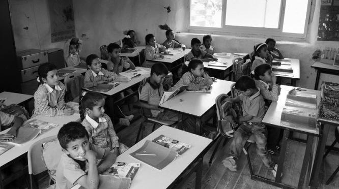 Chi demolisce una scuola, demolisce il futuro - aula scolastica