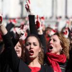 Dall'inchiesta operaia all'inchiesta femminista: l'emergere del lavoro riproduttivo. Manifestazione di donne.