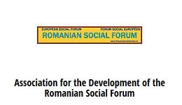 logo romanian social forum